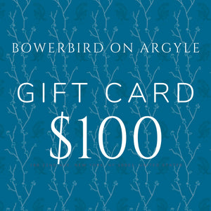 Gift Cards - Bowerbird on Argyle
