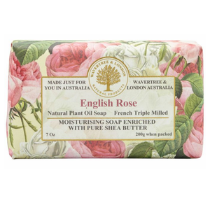 WAVERTREE & LONDON TRIPLE MILLED SOAP - ENGLISH ROSE