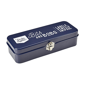 BITS & BOBS STORAGE TIN ATLANTIC BLUE - Bowerbird on Argyle