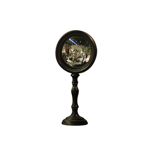 CONVEX MIRROR ON STAND MED 30CM (H)