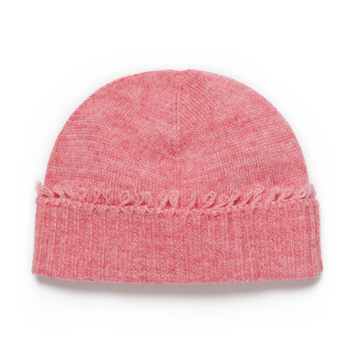 WINDSOR BEANIE - BLUSH MARLE