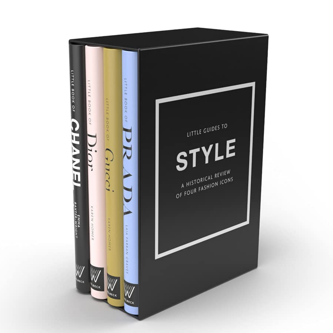 LITTLE BOOK OF STYLE: THE STORY OF FOUR ICONIC FASHION HOUSES