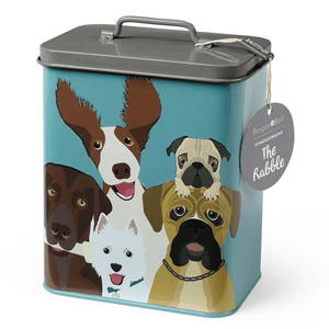 BURGON & BALL ENGLAND 'THE RABBLE' DOG TIN - Bowerbird on Argyle