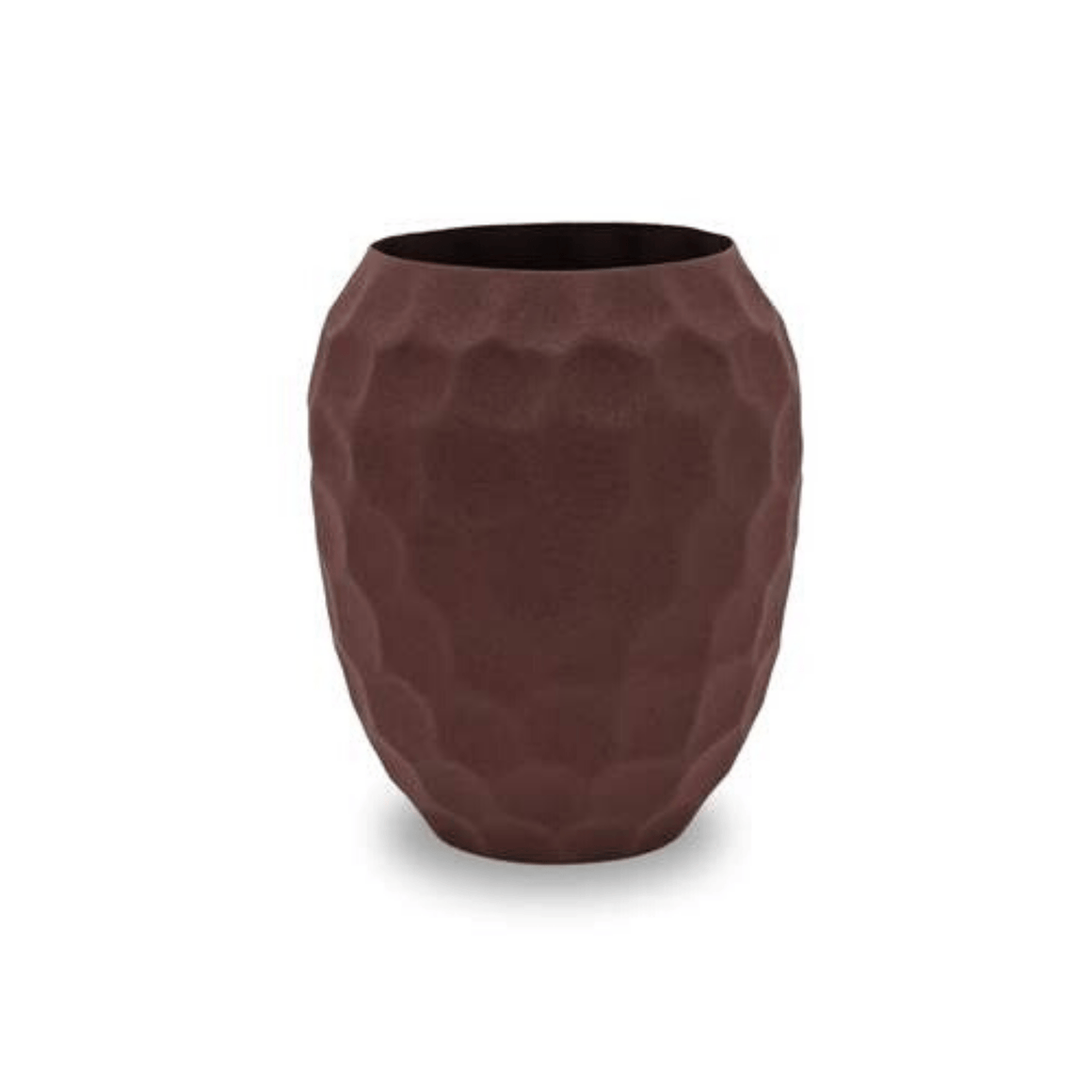 PURA VASE GRAPE - POWDER COATED ALUMINIUM / S