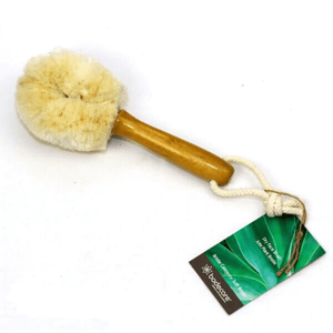 JUTE DRY FACE BRUSH - SOFT BRISTLE / MADE IN GERMANY - Bowerbird on Argyle