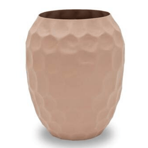 PURA VASE NUDE - POWDER COATED ALUMINIUM / M