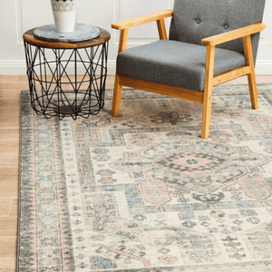 FLOOR RUG AVENUE 704 SILVER - TURKEY / 230 X 160CM