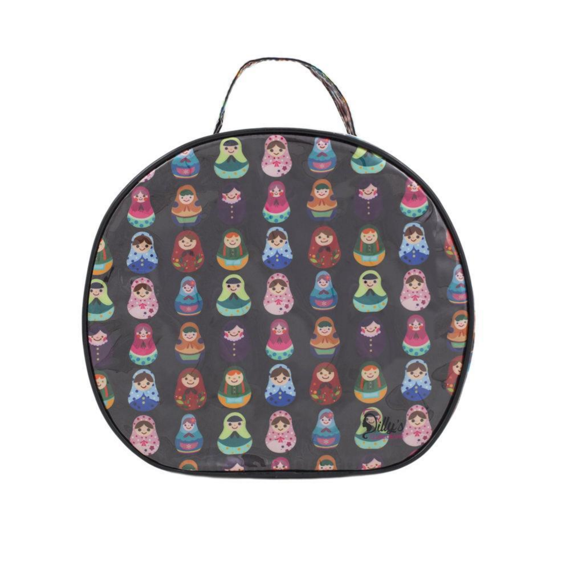 BABUSHKA ROUND COSMETICS BAG - LARGE