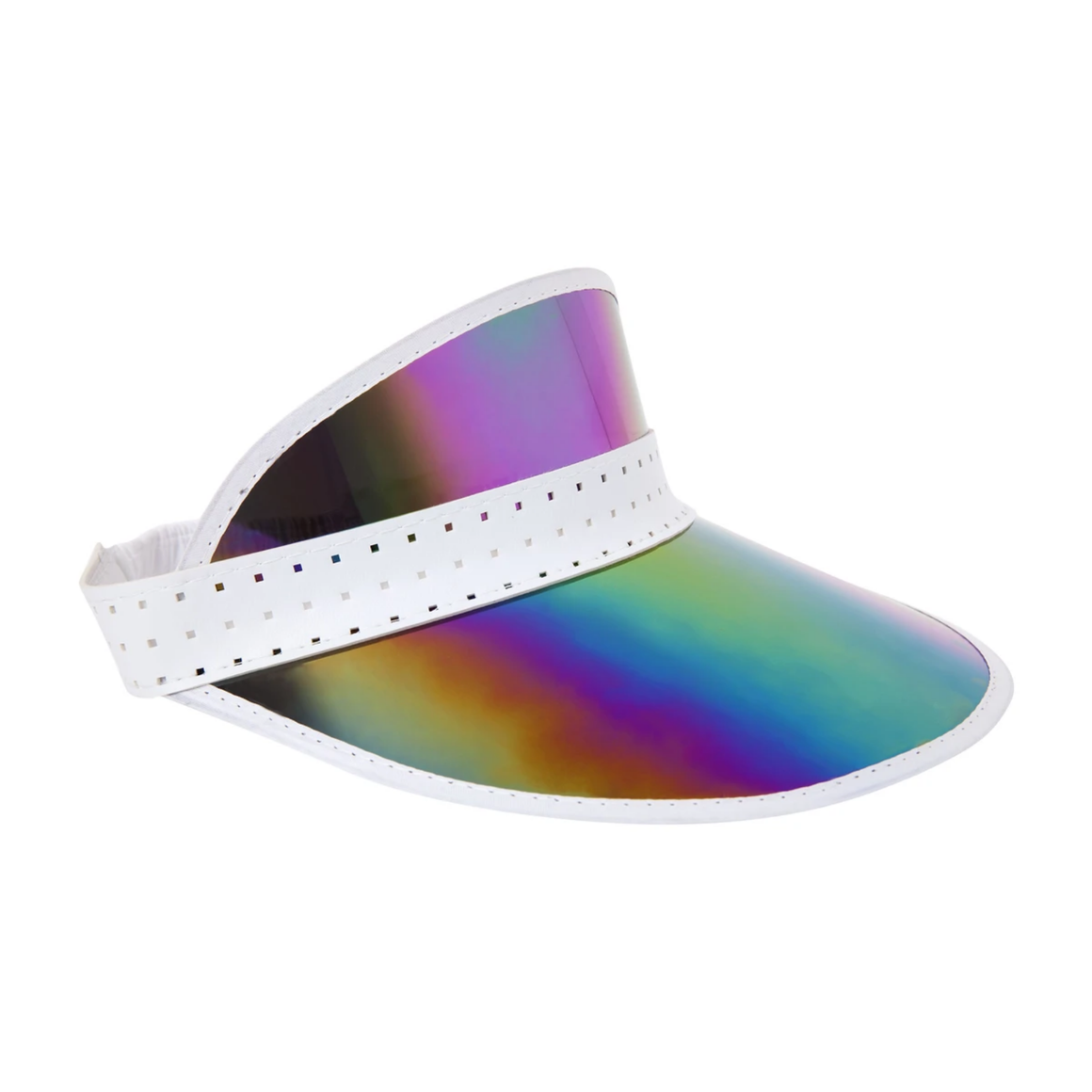 RETRO SUN VISOR / MIDNIGHT IRRIDESCENT - SUNNYLIFE
