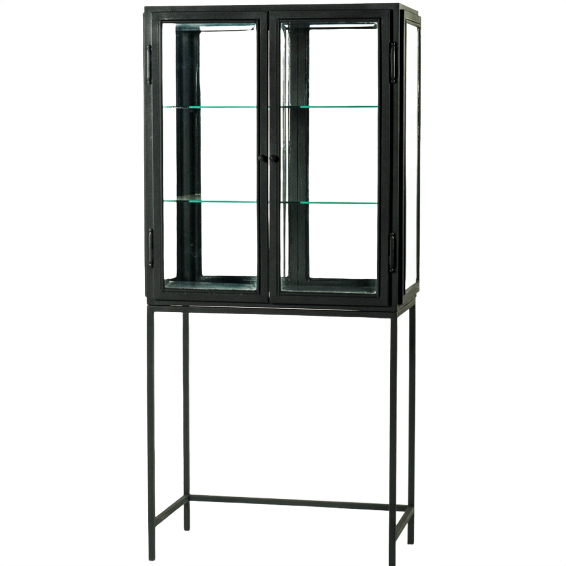BARCELONA WROUGHT IRON 2 DOOR CABINET