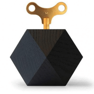SIEBENSACHEN  SATIE CARAT DIAMOND MUSICAL BOX BLACK OAK