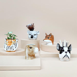 CERAMIC PLANTER - TIGER
