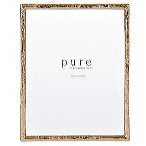 FRAME PHOTO LARGE GOLD LEAF EDGE  / 22CM (W) 2CM(D) X 27CM (H)