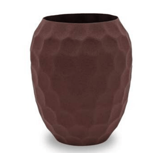 PURA VASE GRAPE - POWDER COATED ALUMINIUM / M