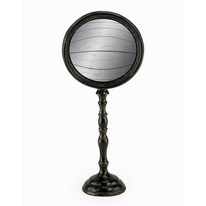CONVEX MIRROR ON STAND - LARGE  40CM (H)