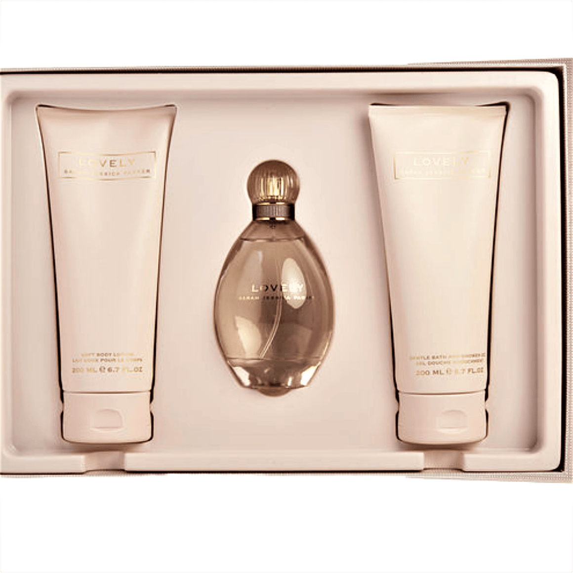 LOVELY BY SARAH JESSICA PARKER - 3 PIECE GIFT SET