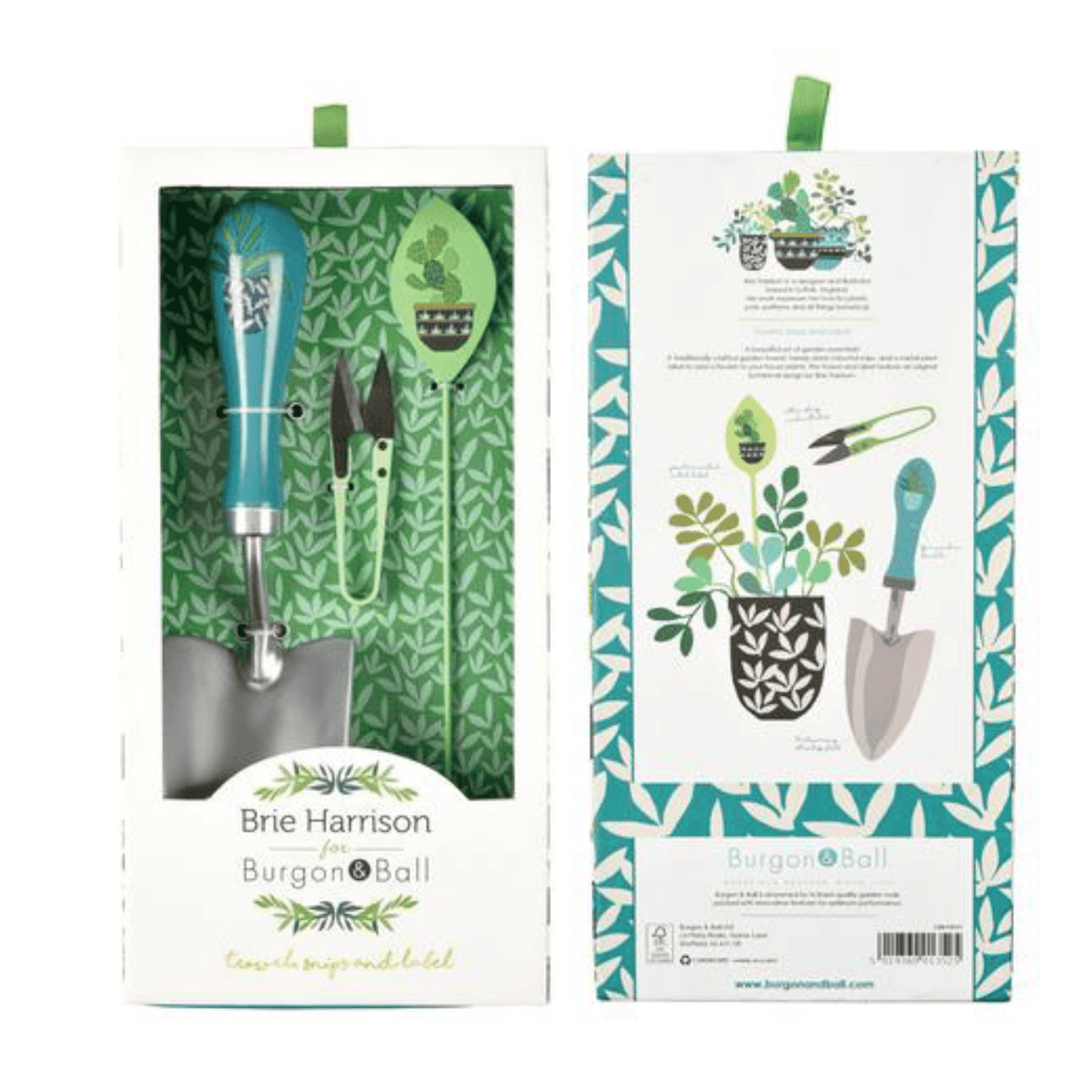 BRIE HARRISON-TROWEL SNIPS AND LABEL SET - Bowerbird on Argyle