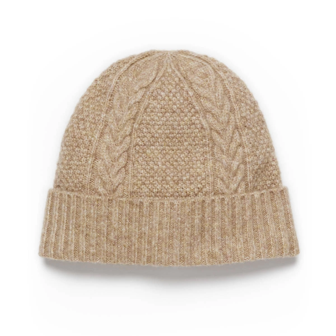 FLINDERS BEANIE - LIGHT CAMEL
