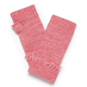 WINDSOR FINGERLESS GLOVES - BLUSH MARLE