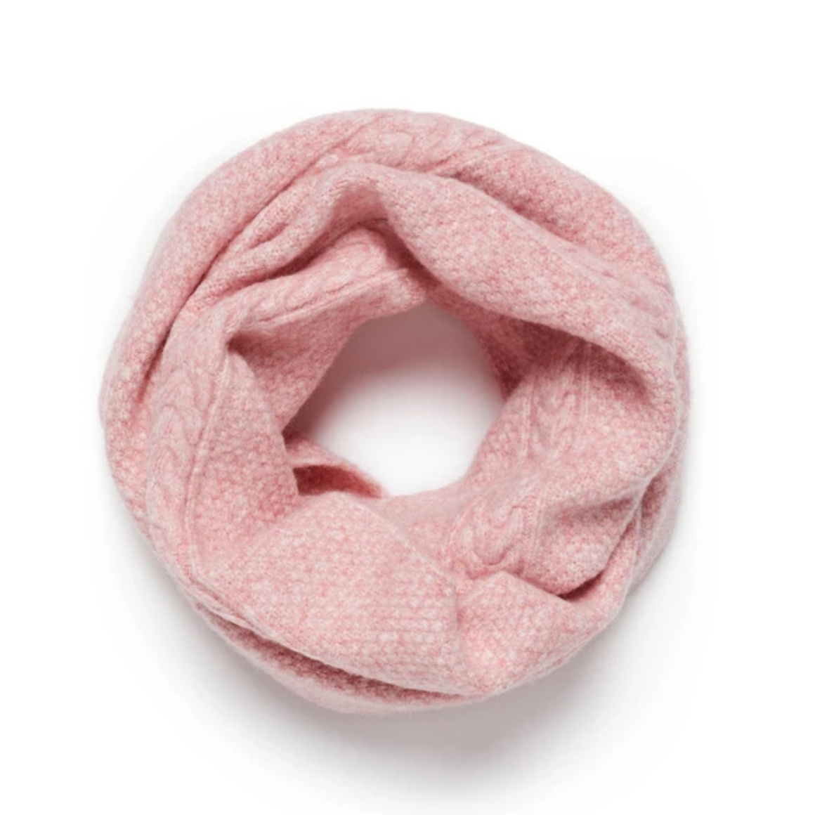 FLINDERS LOOP SCARF - ROSE