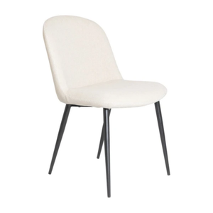 BERGAMA DINING CHAIR  (SET 4) - UPHOLSTERED