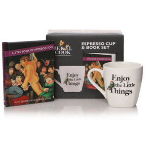 GIFT SET: BERYL COOK LITTLE BOOK OF APPRECIATION & EXPRESSO CUP