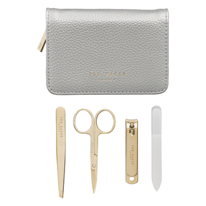 TED BAKER LONDON MANICURE SET - SILVER