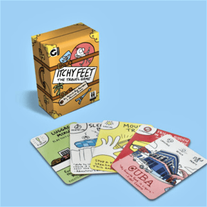 ITCHY FEET TRAVEL CARD GAME - Bowerbird on Argyle