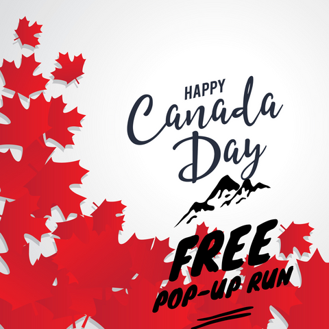 Canada Day Weekend FREE Pop up 5K