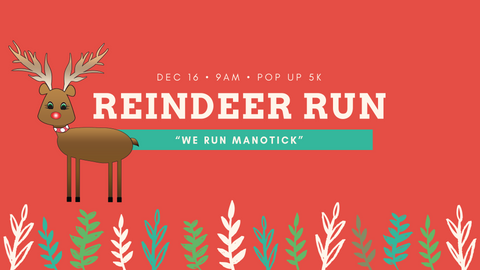 REINDEER RUN - FREE POP UP 5K