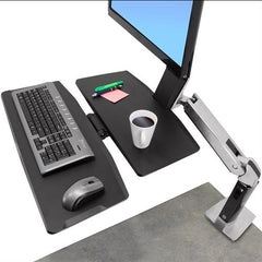 Ergotron 24-317-026 WorkFit A Single LD with Worksurface