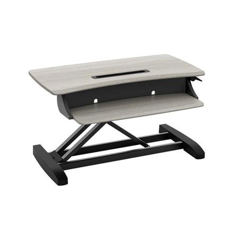 Ergotron 33-458-917 WorkFit Z Mini Standing Desk Workstation - Standing Desk Center