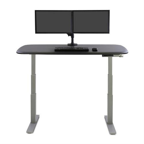 Ergotron 45-489-216 LX Desk Dual Direct Arm White - Standing Desk Center