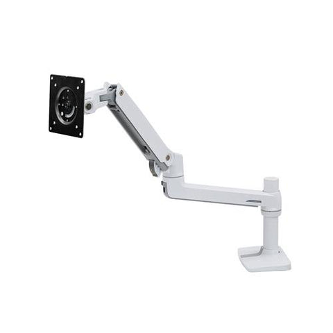 Ergotron 45-241-026 LX Desk Mount Monitor Arm Polished Aluminum - Standing Desk Center