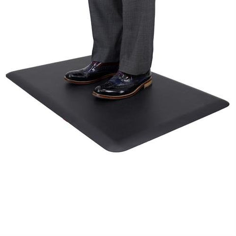 Ergotron 97-620-060 WorkFit Anti-Fatigue Floor Mat Black - Standing Desk Center