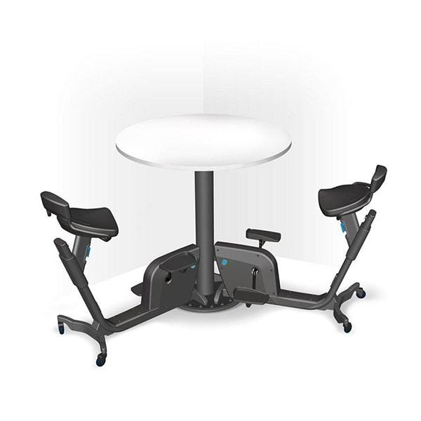 LifeSpan Duo | Trio  Bike Desk - Standing Desk Center