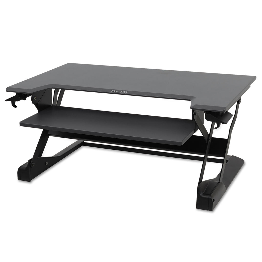 Ergotron Inc Workfit-Tl Desktop Sit-Stand Workstation, 37 1/2 X 25 X 20, Black - Standing Desk Center