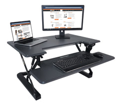 Victor DCX760G High Rise™ Height Adjustable Standing Desk 36