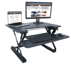 Victor DCX710G High Rise™ Height Adjustable Standing Desk 31