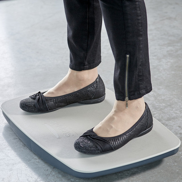 Victor ST570 Steppie Balance Board Steppie | Anti Fatigue Mat Gray - Standing Desk Center