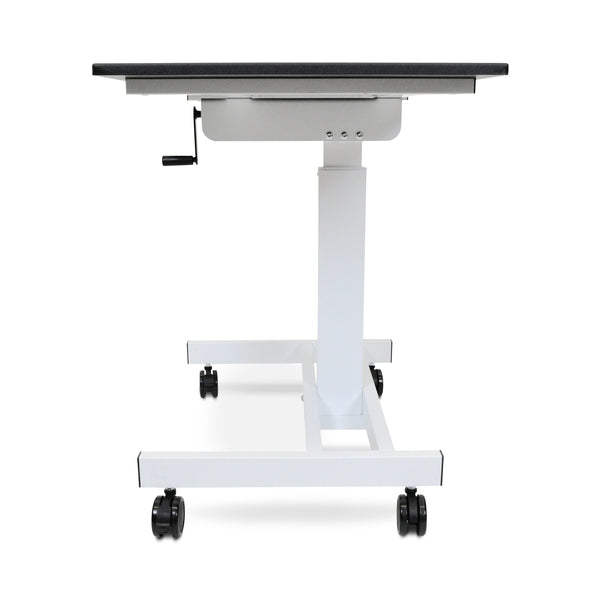 Luxor STANDUP-SC40-WB Single-Column Crank Stand Up Desk 40 inch - Standing Desk Center