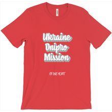 Load image into Gallery viewer, Ukraine Dnipro Mission T-Shirt