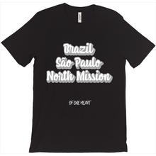 Load image into Gallery viewer, Brazil São Paulo North Mission T-Shirt