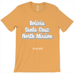 Bolivia Santa Cruz North Mission T-Shirt