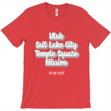 Load image into Gallery viewer, Utah Salt Lake City Temple Square Mission T-Shirt