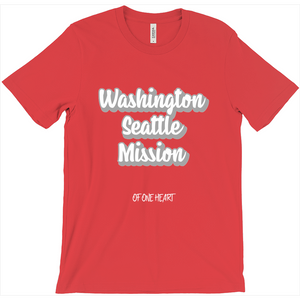 Washington Seattle Mission T-Shirt