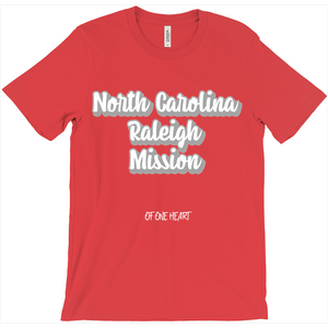 North Carolina Raleigh Mission T-Shirt