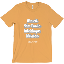 Load image into Gallery viewer, Brazil São Paulo Interlagos Mission T-Shirts