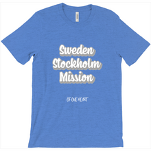 Load image into Gallery viewer, Sweden Stockholm Mission T-Shirt