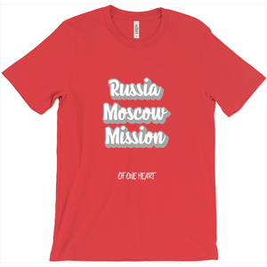 Russia Moscow Mission T-Shirt